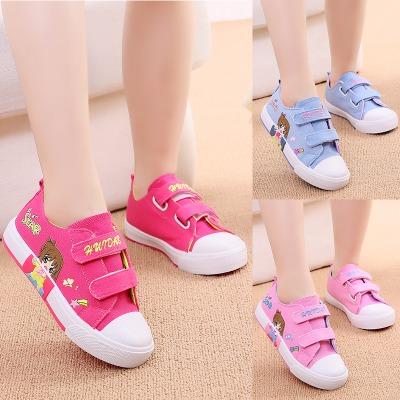 儿童休闲鞋两岁女童鞋儿童运动鞋男大童板鞋女小女孩鞋子回力女鞋