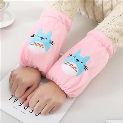 儿童护袖套秋冬季中长款防水男孩女孩可爱公主韩版套袖女童手男童