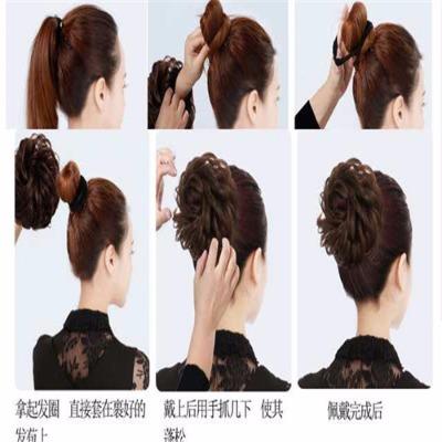 编心形头发的步骤及图片
