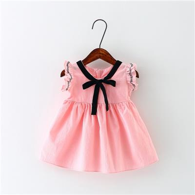 童装女童夏装背心裙201新款儿童无袖裙子一岁婴儿女宝宝连衣裙夏