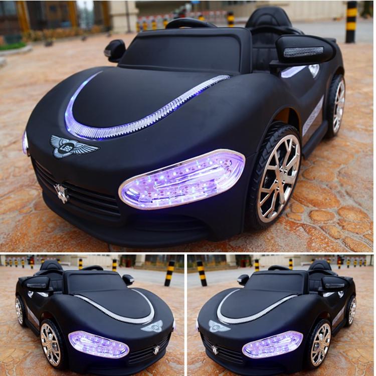 婴儿童电动车四轮可坐遥控汽车1-3岁2-4摇摆童车宝宝玩具车可坐人