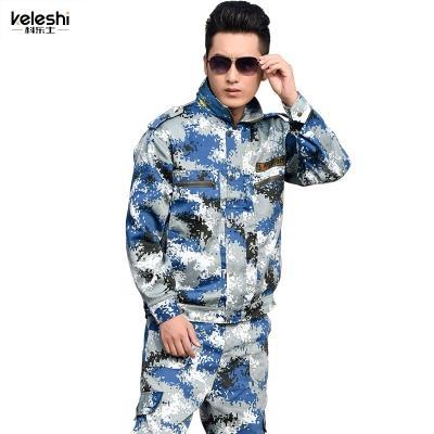 城市迷彩服套装 男女秋季军装军训服 户外特种兵作训服军迷服饰