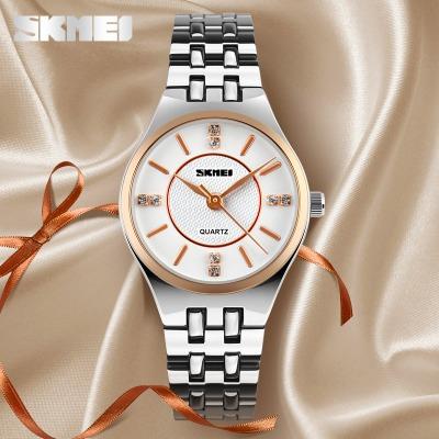 【专柜同款 时刻美正品】新款钢带防水商务时尚韩版学生手表女款