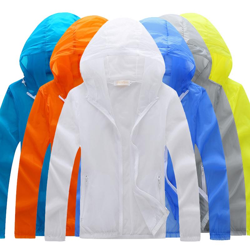 夏季防晒衣男女款皮肤衣超薄款透气防晒服学生钓鱼服防紫外线外套