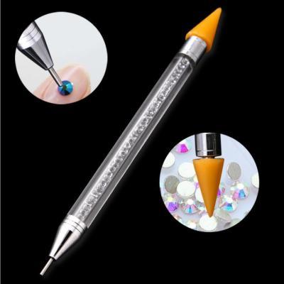 新款美甲工具蜡头点钻笔双头美甲笔点钻蜡笔美甲蜡笔多款式可选